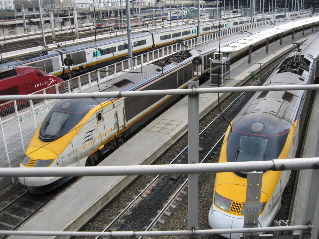 Eurostar launches high-speed service between London and Brussels