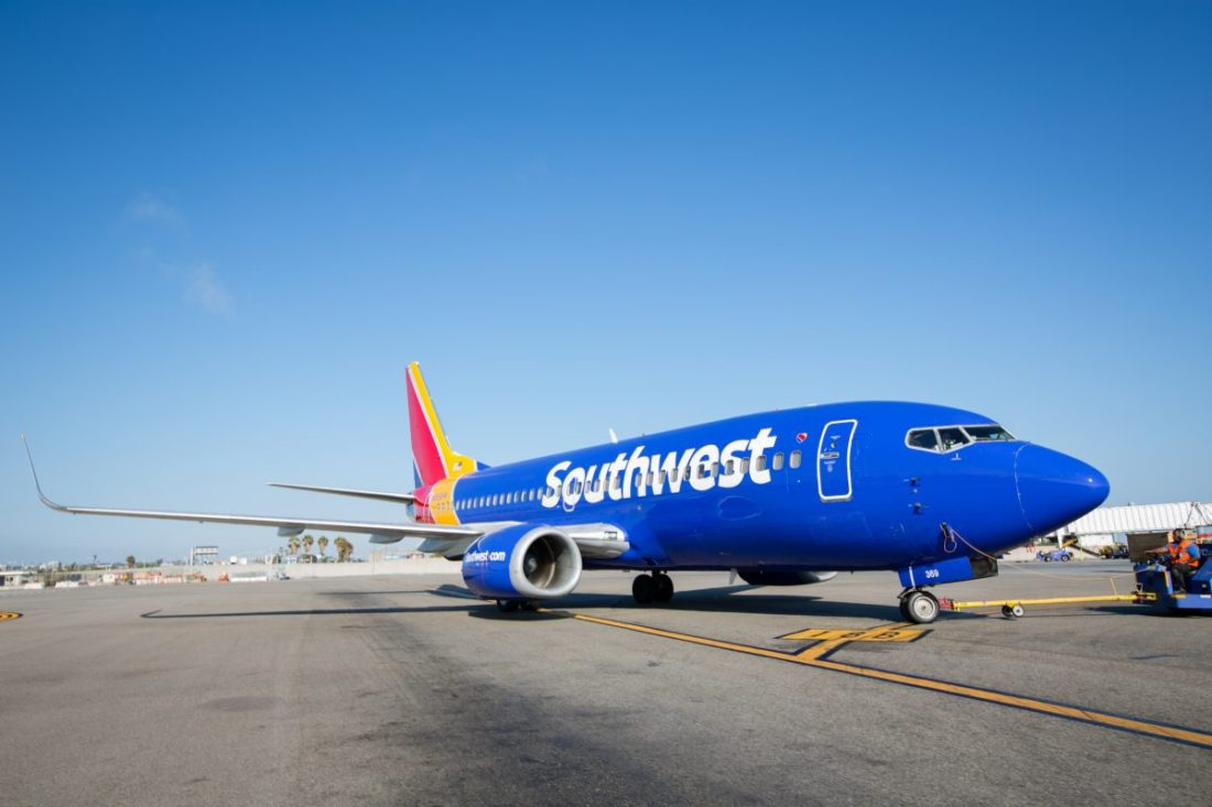 Southwest Airlines, airplane, airline, travel, sale