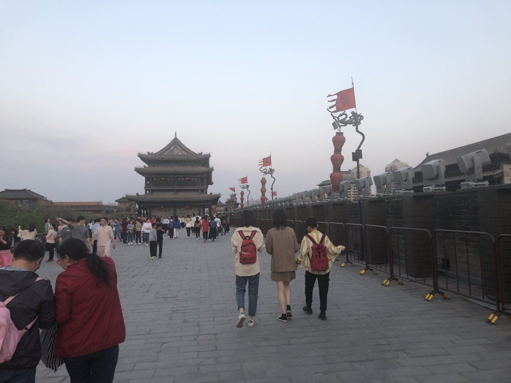 One day in Xian, China: Xian Muslim Quarter, Terracotta Warriors, Xian City Wall