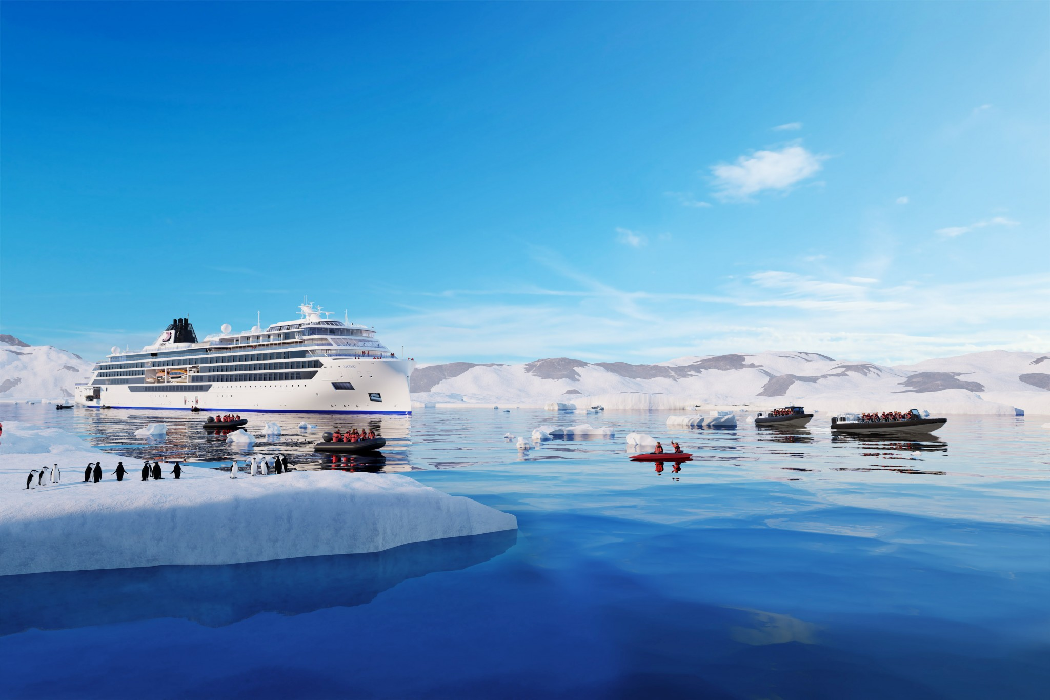 Viking Cruises announces expeditions to Antarctica, Arctic, Great Lakes